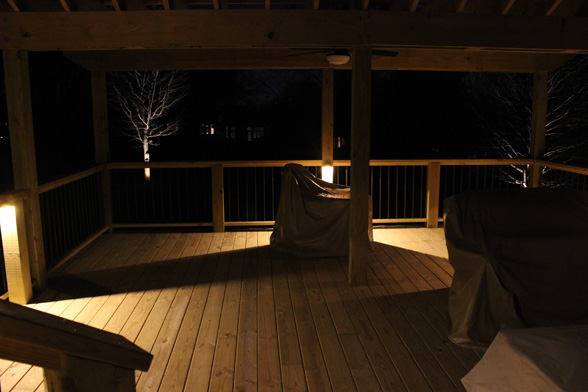 Deck Stair Lighting & Deck Stair Lighting - Midwest Lightscapes | Outdoor u0026 Landscape ... azcodes.com