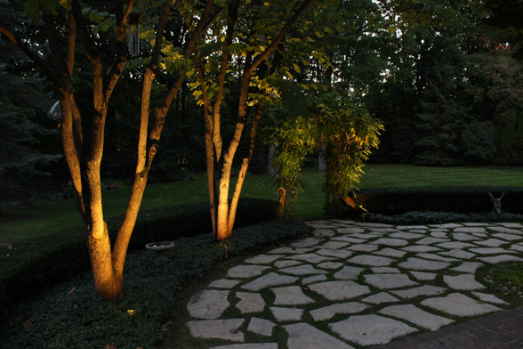 Pools backyards lighting midwest lightscapes outdoor midwest lightscapes landscape lighting home outdoor lighting services aloadofball