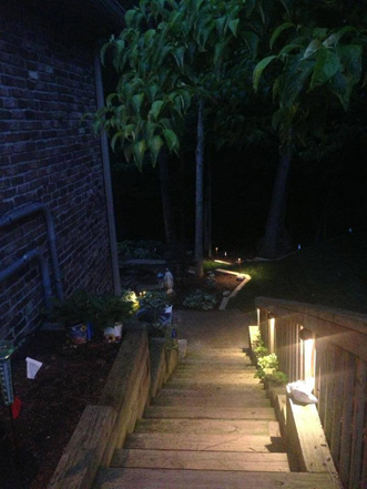 Deck Pathway Lighting