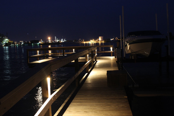 Deck Dock Lighting