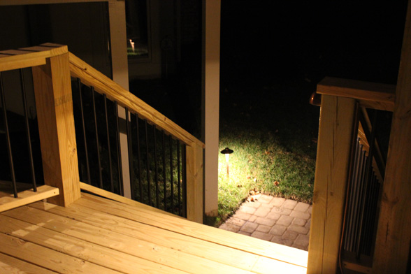 Deck and Deck Stair lIghting