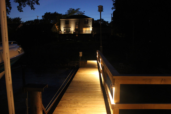 Dock Rail Lights