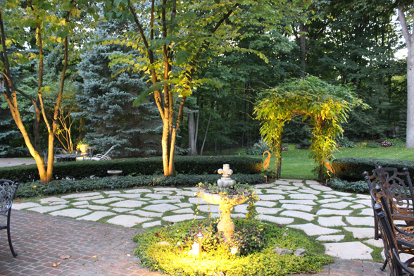 Accent Patio Lighting
