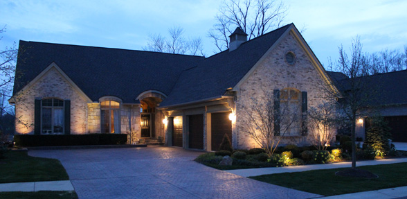 Outdoor Lighting Midwest Lightscapes Landscape Home